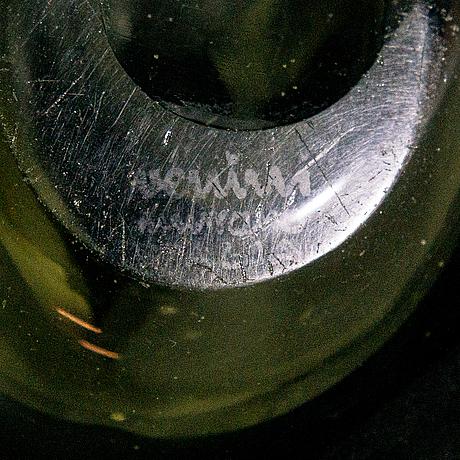 """Fulvio bianconi, maljakko, """"a macchie"""", malli 4321, signeerattu venini murano italia. n. 1950."""