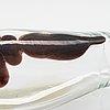 Fulvio bianconi, vase 'a macchie', model 4321, signed venini murano italia. ca. 1950.