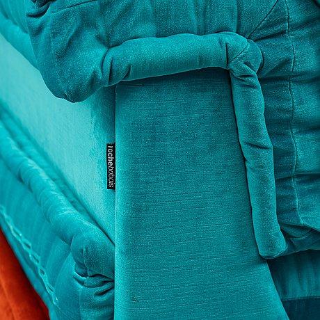 "Hans hopfer, a modular sofa ""mah jong"", roche bobois / missoni 21st century."