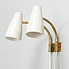 Lisa johansson-pape, a pair of 1960's '50-056/2, wall lights for stockmann orno.