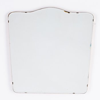 A mirror from AB Glas & Trä, dated 1956.