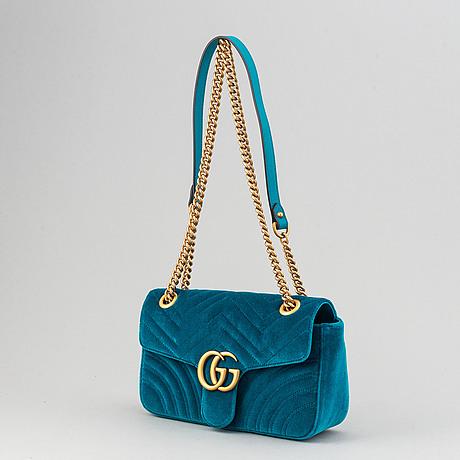Gucci, 'marmont velvet'.
