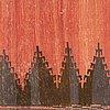 A rug, kilim sofreh, persian, ca 120 x 114 cm.