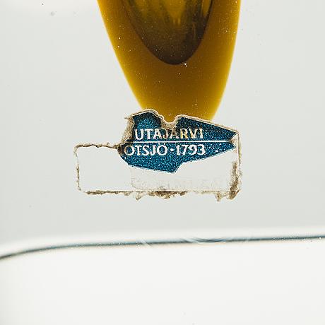 Kaj franck, veistos, malli kf 246, signeerattu, k. franck nuutajärvi notsjö -64.