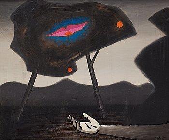 545. Vilhelm Bjerke-Petersen, Surreal composition.