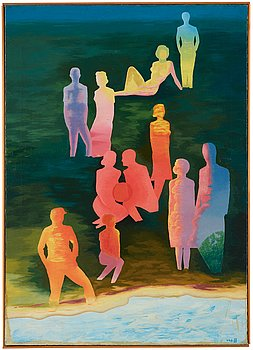 539. Vilhelm Bjerke-Petersen, Untitled.