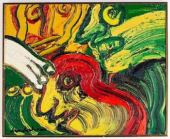 Bengt Lindström, oil on canvas, signed Lindström.