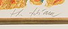 Theo tobiasse, litografi och carborundumetsning, signerad och numrerad 4/125.