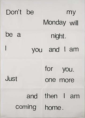 Charlie woolley, print on paper, 2008.