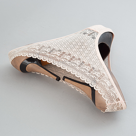 Martin soto climent, women's shoes and panties. executed in 2014.
