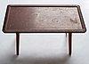 "Nordiska kompaniet, a swedish modern oak sofa table ""nk hantverk"", sweden 1947."