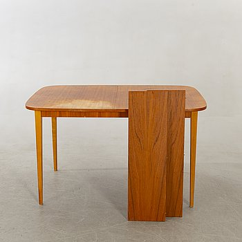 Dining table, teak, 1960s.