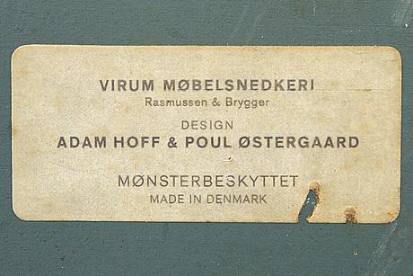 Adam hoff & poul östergaard coathanger for virum denmark 1960s.
