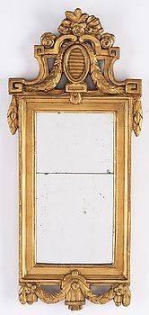 A Gustavian style mirror by Niclas Reding (1751-1826).