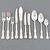 A silver cutlery service, 'prins albert', gab. (124 pieces).