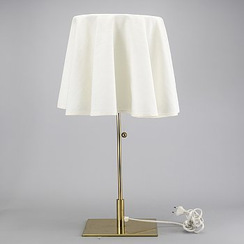 A Bergboms table lamp later part of the 20th century.