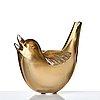 Tyra lundgren, a glass sculpture of a bird, venini, murano, model 2627, ca 1937-38.