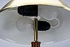 A mid 1900s table lamp.