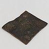 A swedish 1/2 daler coin 1710.
