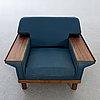 Svante skogh probably, sofa and armchair,  engen 1960s.