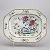 A chinese qianlong tureen plate.