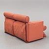 Gaetano pesce, a leather sofa, meritalia, italy.