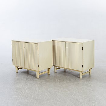 Bedside table / cupboard, a couple, 1930s.