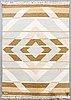 A flat weave carpet ca 240 x 170 cm.