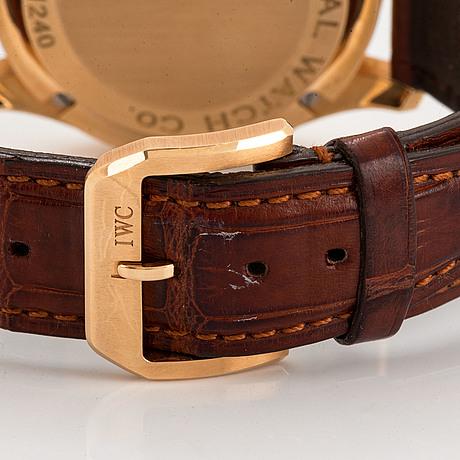 Iwc, schaffhausen, portuguese, armbandsur, 41 mm.