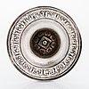 A pair of russian silver candlesticks, maker's mark of carl johan heyne, saint petersburg 1825.