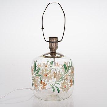 Paavo Tynell, bordslampa, Taito /Köklax Glasbruk, 1930-tal.