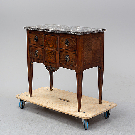 A louis xvi-style chest of drawers, first half of the 20th century. possibly danish.