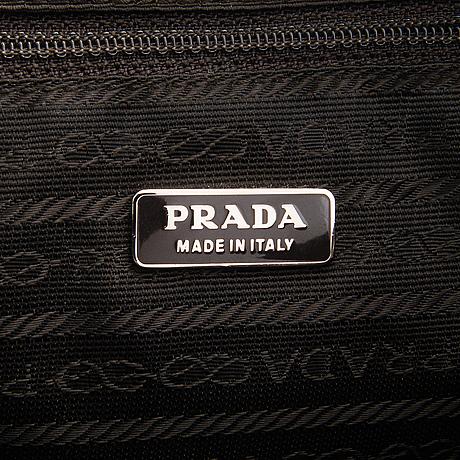 Prada, handbag.