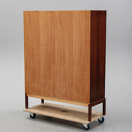 A scandinavian rosewood cabinet, 1960's.