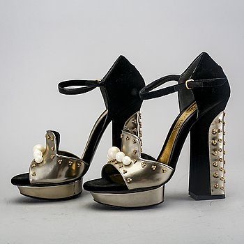 Alexander McQueen, shoes.