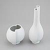 """Wilhelm kåge, two vases, """"surrea"""", gustavsberg."""