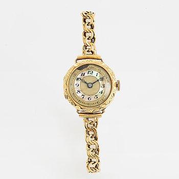 Wristwatch, 22 mm.