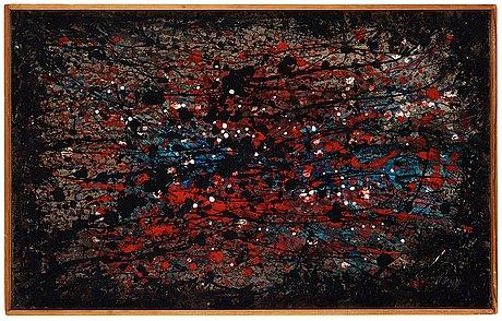 """Inger ekdahl, """"kosmisk komposition""""."""