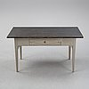 A gustavian style writing desk from the 19th century.