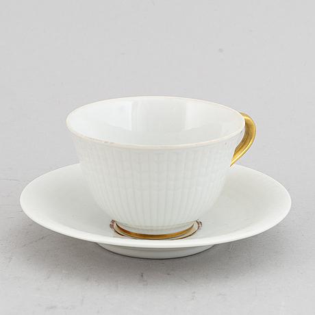 "Louise adelborg, mat, kaffe- och teservis, porslin, 110 delar, ""swedish grace""/""nationalservisen"", rörstrand."