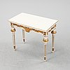 A gustavian table, early 19th century.