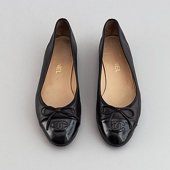 Chanel, ballerinas, size 40.