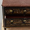 A 19th century gustavian style chest of drawers.