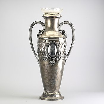An EPNS  floor vase early 1900s.