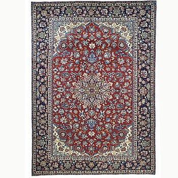 A carpet, The Esfahan province, ca 355 x 232 cm.