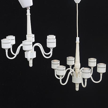 Hans-agne jakobsson, ceiling lamps 2 pcs.