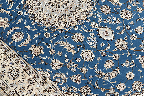 Matto, nain part silk s.k 6laa, ca 237 x 157 cm.