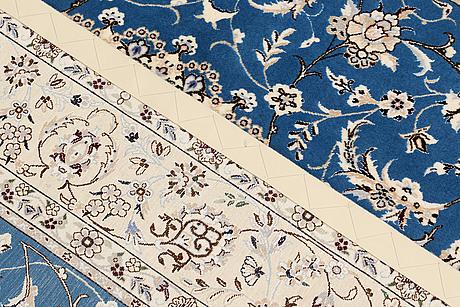 Matta, nain part silk s.k 6laa, ca 237 x 157 cm.