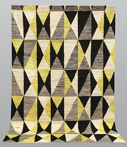 A carpet, morocco, modern design, ca 311 x 201 cm.