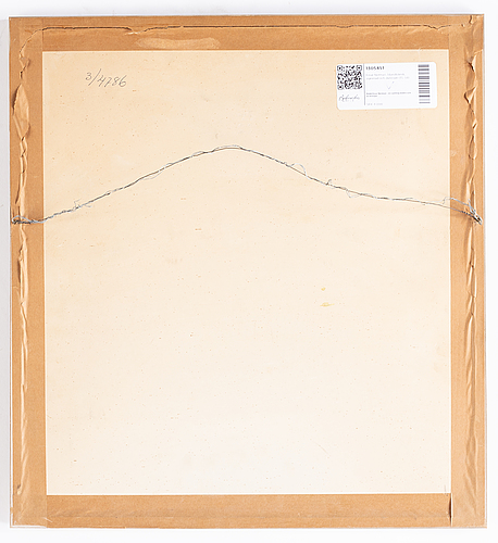Einar nerman, mixed media, signed and dated -35.